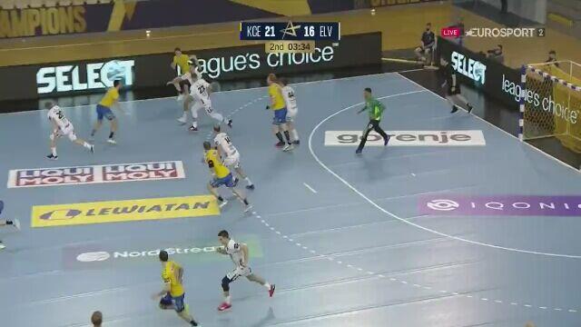 Świetna obrona Korneckiego w meczu Vive z Elverumem w Lidze Mistrzów