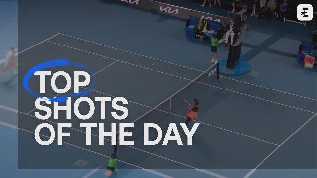 5 najlepszych zagrań finału singla kobiet w Australian Open