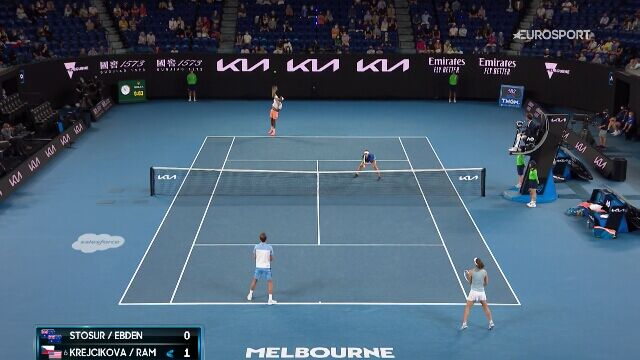 Najciekawsze momenty finału gry mieszanej w Australian Open