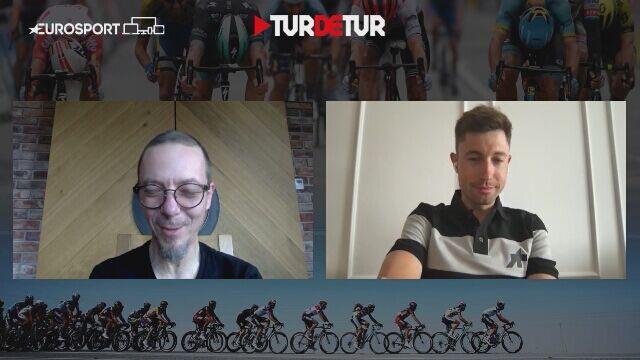 Łukasz Wiśniowski przed startem Giro d'Italia