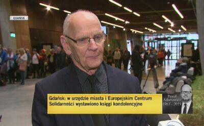 """Adamowicz """"postacią pomnikową' według jego przyjaciela"""