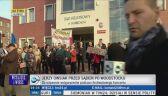 Wiec poparcia Jurka Owsiaka przed sądem
