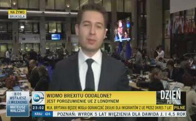 """Jest porozumienie Brukseli z Londynem. """"Jednomyślne poparcie"""""""