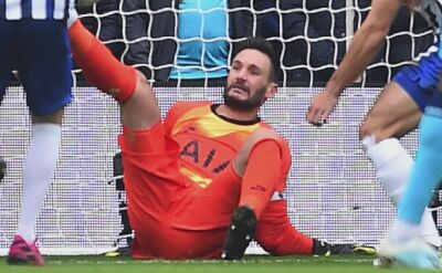 Koszmarna kontuzja Hugo Llorisa w meczu Brighton