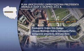 Zaprzysiężenie Andrzeja Dudy na prezydenta już za tydzień