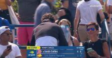Carla Suarez Navarro otrzymała owacje po ostatnim w karierze singlowym meczu na US Open