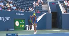 US Open. Magda Linette wygrała 6. gema w spotkaniu z Coco Gauff