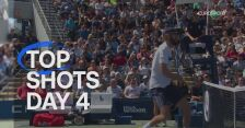 Pięć najlepszych zagrań 4. dnia US Open
