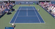 US Open. Drugie przełamanie Fiony Ferro z Igą Świątek w 1. secie