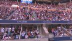 Bezsilny Djoković we łzach w przerwie finału US Open z Miedwiediewem