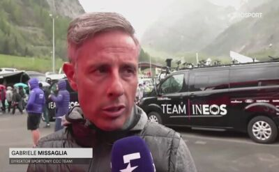 Missaglia po 14. etapie Giro d'Italia
