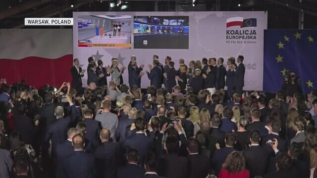 Five Polish ministers have won seats in the European Parliament