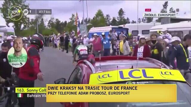 Adam Probosz o sytuacji na 1. etapie Tour de France