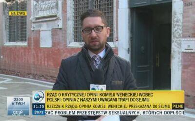 """""""Ze strony KE Polsce mogą już grozić ewentualne sankcje lub kary"""""""