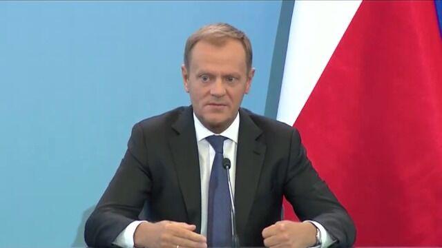 Tusk: jeśli kryzys zaufania będzie się pogłębiał, możliwe wcześniejsze wybory