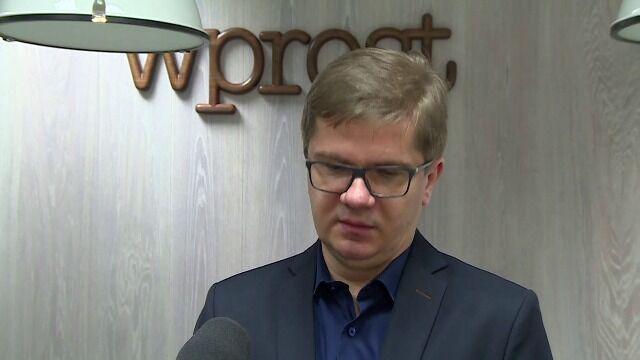 Latkowski: potrzebujemy wyraźnej deklaracji informatyka, że to nie doprowadzi do źródła