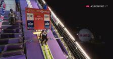 Zwycięski skok Kamila Stocha z kwalifikacji w Wiśle