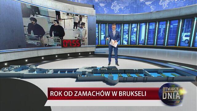 Seria wybuchów w Brukseli