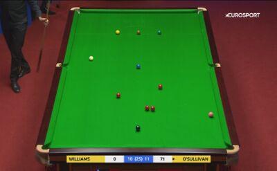 "Piąta ""setka"" O'Sullivana w ćwierćfinale z Williamsem"