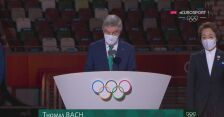Tokio. Przemówienie prezydenta MKOl Thomasa Bacha na zakończenie igrzysk
