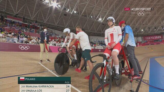 Tokio. Łoś i Karwacka pokonały Ukrainki i zajęły 7. miejsce w kolarstwie torowym