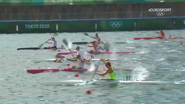 Tokio. Kajakarstwo. Marta Walczykiewicz trzecia w półfinale na 200 metrów