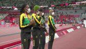 Tokio. Lekkoatletyka: Polska sztafeta 4x400 udekorowana srebrnym medalem
