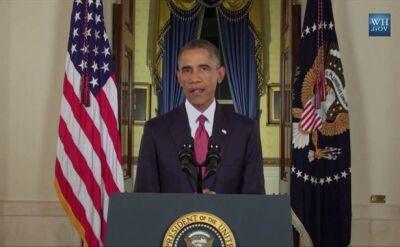 Całe wystąpienie prezydenta USA o Państwie Islamskim