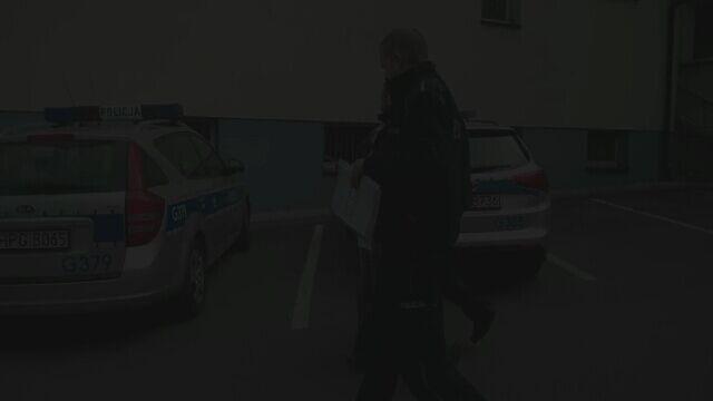 Mężczyzna został zatrzymany przez policję