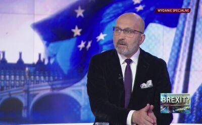 """Na Brexicie najwięcej straciłaby Polska"""