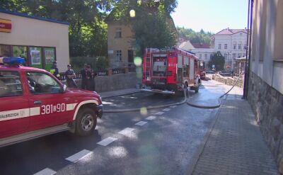 Świadkowie zdarzenia opowiadają o pożarze