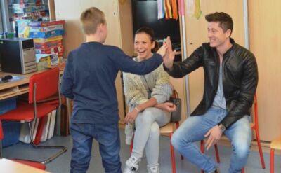 Lewandowscy przekazali pieniądze na Centrum Zdrowia Dziecka
