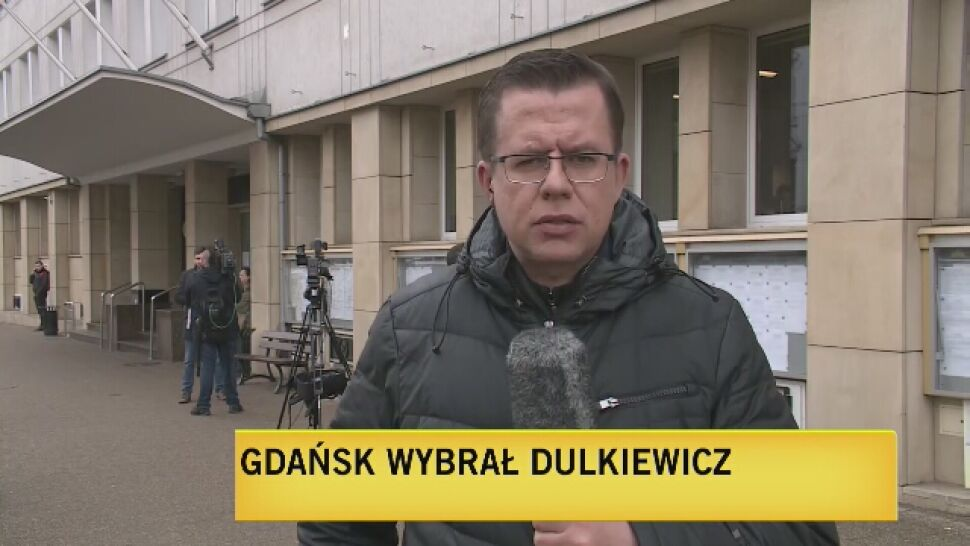 Aleksandra Dulkiewicz prezydentem Gdańska