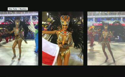 Kashira tanczyła na karnawale w Rio po raz czwarty