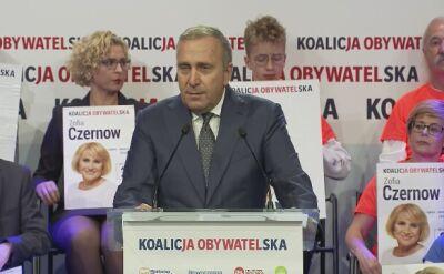 Schetyna: kłopoty prezesa NIK nienormalne jak to, że dyrektorem kurnika został lis