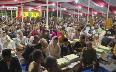 Masowe śluby w Indonezji
