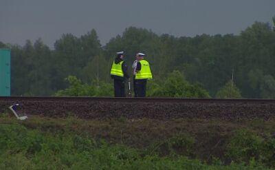 Wypadek na przejeździe kolejowym. Na miejscu pracuje prokurator