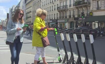 Elektryczne hulajnogi coraz popularniejsze w europejskich miastach