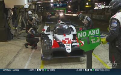 Wypadek na treningu w Le Mans