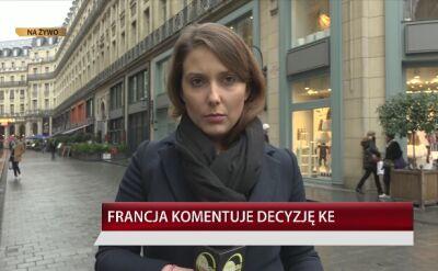 Francja komentuje uruchomienie artykułu 7 przeciw Polsce