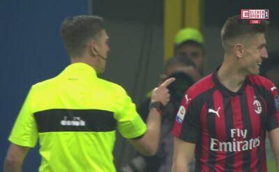 Dwie szanse Piątka i symulka w meczu z Lazio