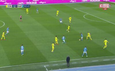 Gol Milika przeciwko Chievo