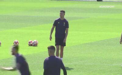 Cristiano Ronaldo wyleczył uraz przed meczem Ajax - Juventus