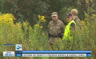 """Żołnierze sprawdzają miejsce, gdzie ma być ukryty """"złoty pociąg"""""""