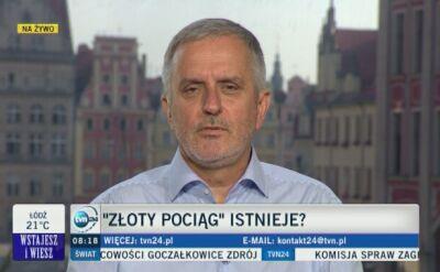"""Prezydent Wałbrzycha o domniemanym """"złotym pociągu"""""""