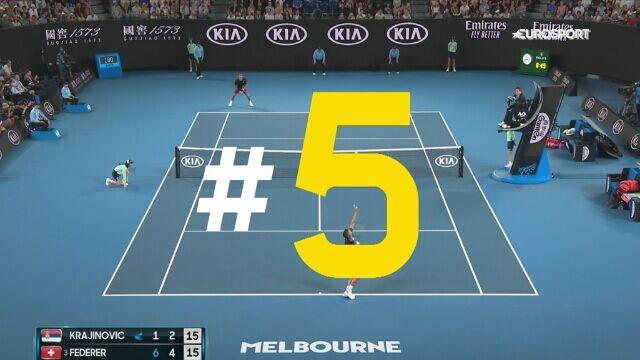 TOP 5 zagrań 3. dnia Australian Open