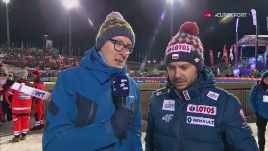 Rozmowa z Michalem Doleżalem po konkursie drużynowym w Zakopanem