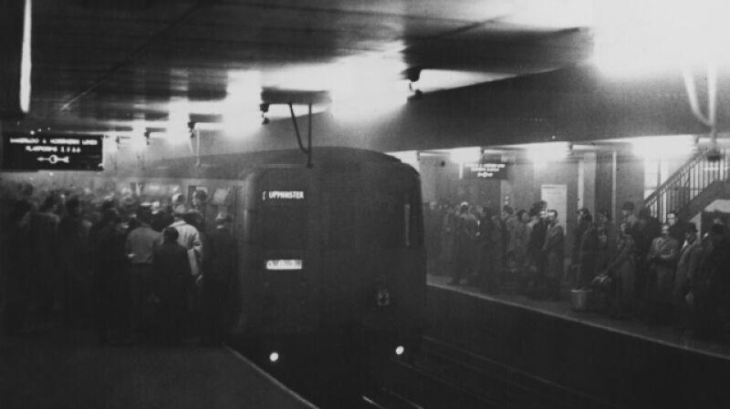 Wielki Smog w Londynie na zdjęciach