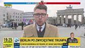 Niemcy po wygranej Trumpa. Merkel gratuluje prezydentowi-elektowi