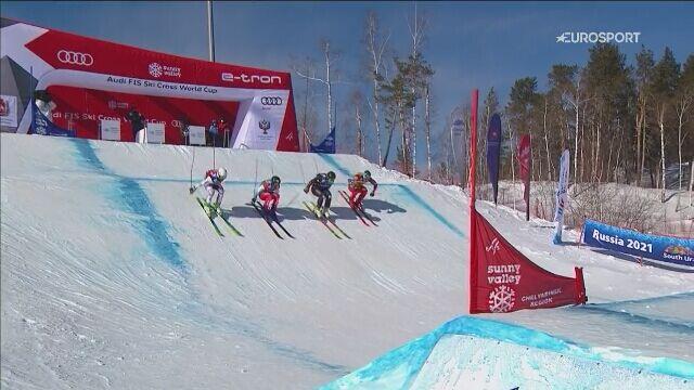 Finał skicrossu PŚ mężczyzn w Sołnecznej Dolinie
